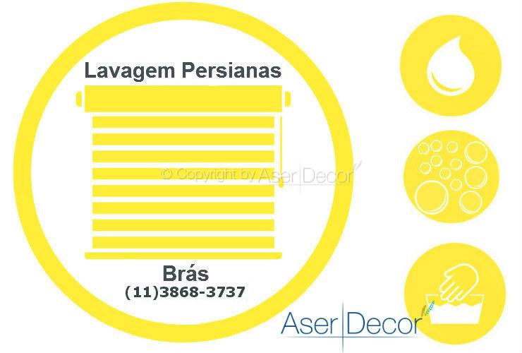 Serviço de Lavagem de Persianas Brás