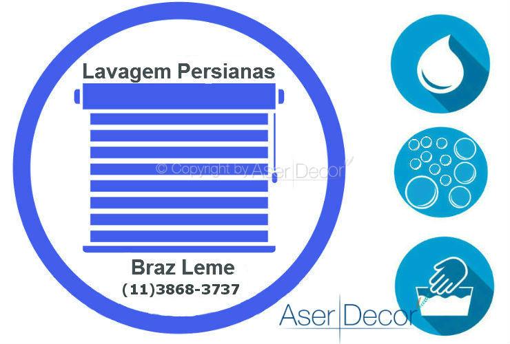 Serviço de Lavagem de Persianas Braz Leme
