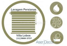 Serviço de Lavagem de Persianas Villa Lobos