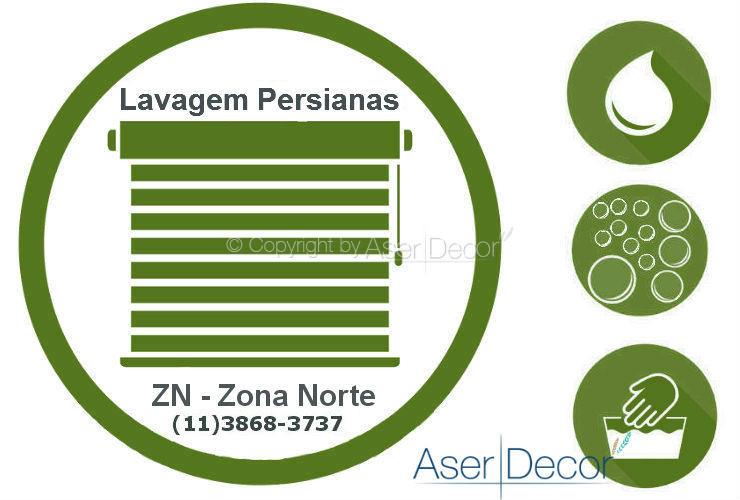 Serviço de Lavagem de Persianas Zona Norte ZN