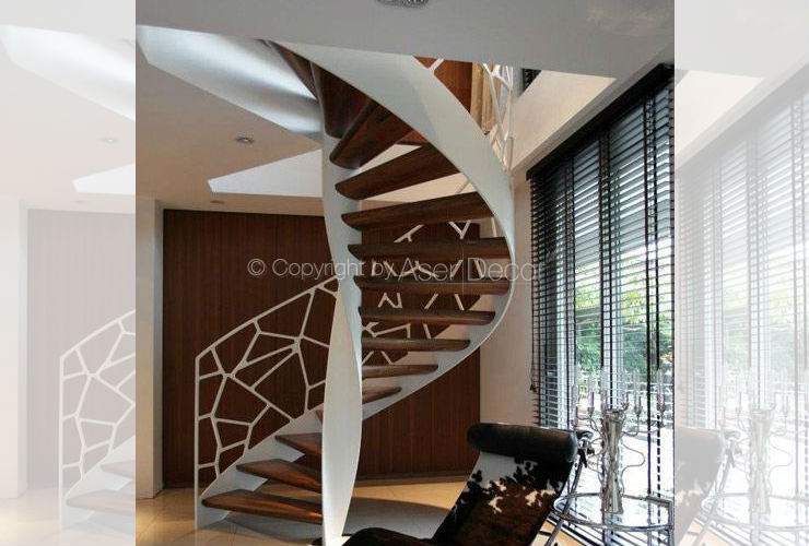 Escada Célula Madrigh Design Metal Branco