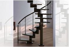 Escada Caracol Shovvvit Moderna Preto