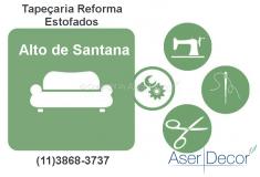 Reforma de Estofados Alto de Santana Tapeçaria Alto Padrão