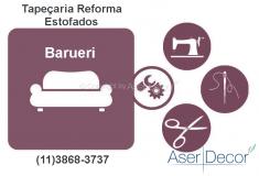 Reforma de Estofados Barueri Tapeçaria Alto Padrão