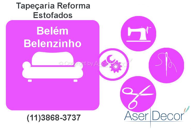 Reforma de Estofados Belém Belenzinho Tapeçaria Alto Padrão